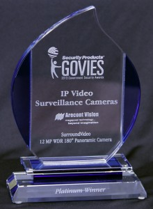 The Arecont Vision MegaDome® 2 WDR Megapixel Camera won a Gold Govie.