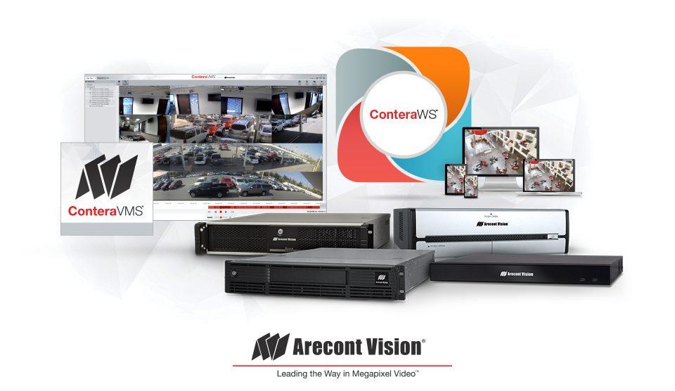 Arecont Vision® Releases ConteraVMS®, ConteraWS® Web Services